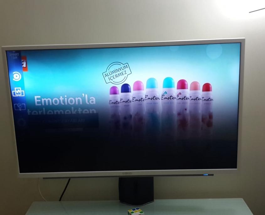 Led Tv panel backliht hatası.